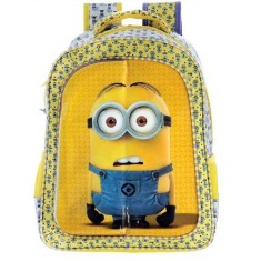 Foto Mochila Escolar Xeryus Minion Triple Fun 14 5763