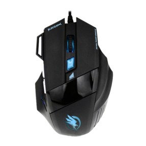 Foto Mouse Óptico Gamer USB Black Hawk - Fortrek