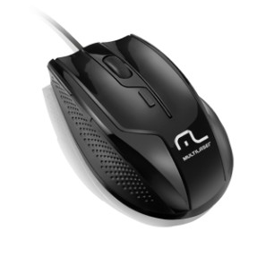 Foto Mouse Óptico Profissional USB MO164 - Multilaser