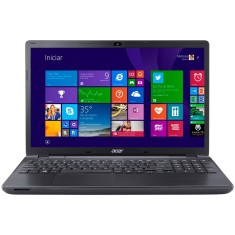 "Foto Notebook Acer E5-571-33ZU Intel Core i3 4005U 15,6"" 4GB HD 500 GB Windows 8 4ª Geração"