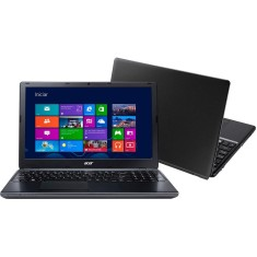 "Foto Notebook Acer Aspire E Intel Core i3 4005U 4ª Geração 4GB de RAM HD 500 GB 15,6"" Windows 8.1 E5-571-33ZU"