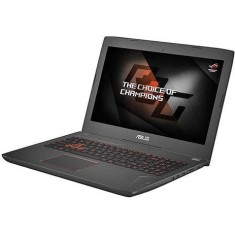 "Foto Notebook Asus FX 502 VM Intel Core i7 7700HQ 15,6"" 16GB HD 1 TB GeForce GTX 1060 Híbrido"