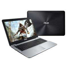 "Foto Notebook Asus X Series Intel Core i7 6500U 8GB de RAM SSD 240 GB 15,6"" GeForce 940M Windows 10 Home X555UB"