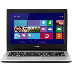 "Foto Notebook CCE HT345 TV Intel Core i3 3217U 14"" 4GB HD 500 GB Touchscreen"