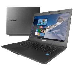"Foto Notebook Compaq Compaq Presario Intel Celeron N2820 3GB de RAM HD 500 GB 14"" Windows 10 CQ-23"