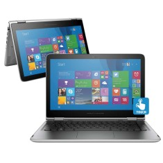 "Foto Notebook HP 13-S101BR Intel Core i3 6100U 13,3"" 4GB HD 500 GB Touchscreen"