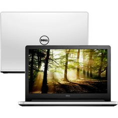 "Foto Notebook Dell I15-5558-D30 Intel Core i5 5200U 15,6"" 4GB HD 1 TB"
