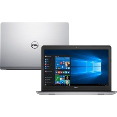 "Foto Notebook Dell I15-5557-A10 Special Edition Intel Core i5 6200U 15,6"" 8GB HD 1 TB Híbrido"
