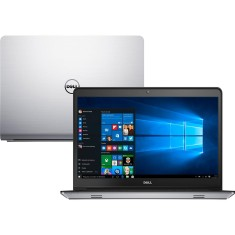 "Foto Notebook Dell Inspiron 5000 Intel Core i7 6500U 8GB de RAM HD 1 TB Híbrido SSD 8 GB 14"" GeForce 930M Windows 10 I14-5457-A30"