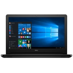 "Foto Notebook Dell i15 5566 Intel Pentium N3710 15,6"" 4GB HD 500 GB Windows 10"
