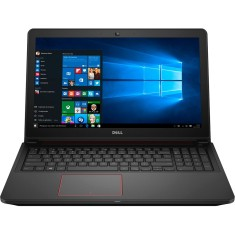 "Foto Notebook Dell i15-7559-A30 Intel Core i7 6700HQ 15,6"" 16GB HD 1 TB GeForce GTX 960M SSD 120 GB"