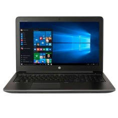 "Foto Notebook HP ZBook G3 Intel Core i7 6820HQ 15,6"" 8GB SSD 256 GB 6ª Geração"