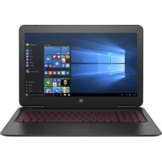 "Foto Notebook HP Omen 15 Intel Core i7 7700HQ 15,6"" 8GB HD 1 TB GeForce GTX 1050 Ti"