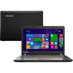 "Foto Notebook Lenovo 100-14IBY Intel Celeron N2840 14"" 2GB HD 500 GB Windows 8.1"
