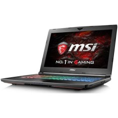 "Foto Notebook MSI GT62VR Intel Core i7 7700HQ 15,6"" 16GB HD 1 TB GeForce GTX 1070 SSD 500 GB"