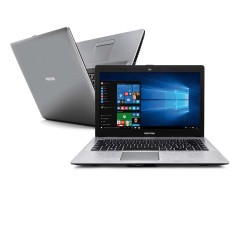 "Foto Notebook Positivo XR7520 Intel Core i3 4005U 14"" 2GB HD 500 GB"
