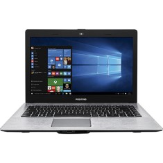 "Foto Notebook Positivo XR3550 Intel Celeron N2808 14"" 4GB HD 500 GB Windows 10 Home"