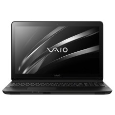 "Foto Notebook Vaio 15F Intel Core i3 5005U 15,6"" 4GB HD 1 TB 5ª Geração"