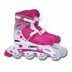Foto Patins In-Line Barbie Brinquedos Fun Toys Barbie