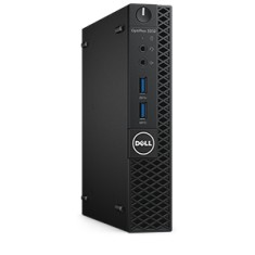 Foto PC Dell OptiPlex 3050 MFF Intel Core i3 7100T 4 GB 500 Windows 10 Pro USB 3.0 | Dell SMB
