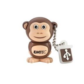 Foto Pen Drive Emtec Animals The Safari 4 GB USB 2.0 M322