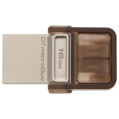 Foto Pen Drive Kingston Data Traveler MicroDuo 16 GB USB 2.0 DTDUO