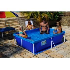 piscina de plastico 2000 litros retangular