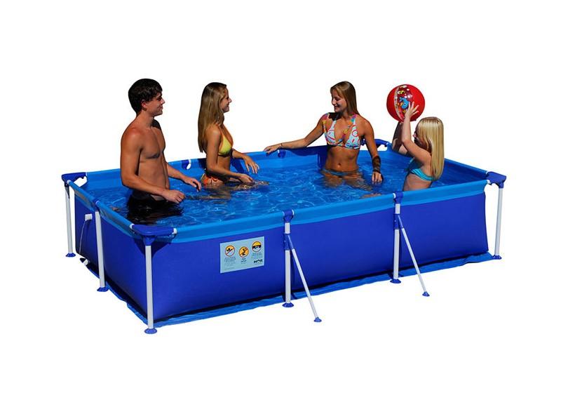 piscina de plastico 500 litros quadrada