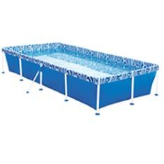 Piscina de plastico 3000 litros retangular for Filtro piscina carrefour