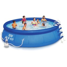Foto Piscina Inflável 12.430 l Redonda Intex Easy Set 56408