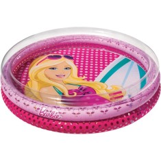 Foto Piscina Inflável 131 l Redonda Fun Fashion Barbie