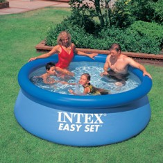 Foto Piscina Inflável 2.419 l Redonda Intex Easy Set 56970