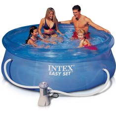 Foto Piscina Inflável 5.621 l Redonda Intex Easy Set 56421