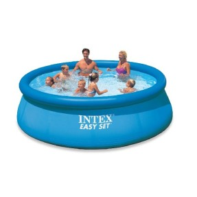 Foto Piscina Inflável 6.734 l Redonda Intex Easy Set 56930