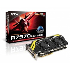 Foto Placa de Video ATI Radeon HD 7970 3 GB GDDR5 384 Bits MSI R7970 Lightning