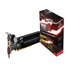 Foto Placa de Video ATI Radeon R5 230 2 GB DDR3 64 Bits XFX R5-230A-CLH2