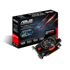 Foto Placa de Video ATI Radeon R7 250X 1 GB GDDR5 128 Bits Asus R7250X-1GD5