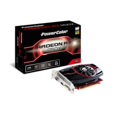 Foto Placa de Video ATI Radeon R7 250X 2 GB GDDR5 128 Bits PowerColor AXR7 250X 2GBD5-HE