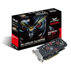 Foto Placa de Video ATI Radeon R7 370 2 GB GDDR5 256 Bits Asus Strix R7370- DC2OC-2GD5 Gaming