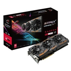 Foto Placa de Video ATI Radeon RX 480 8 GB GDDR5 256 Bits Asus STRIX-RX480-O8G-GAMING