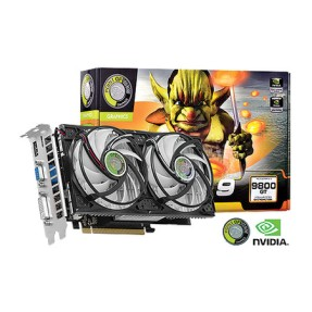 Foto Placa de Video NVIDIA GeForce 9800 GT 1 GB DDR3 256 Bits Point Of View R-VGA150913G-2