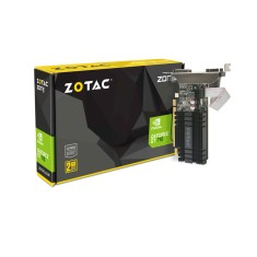 Foto Placa de Video NVIDIA GeForce GT 710 2 GB DDR3 64 Bits Zotac ZT-71302-20L