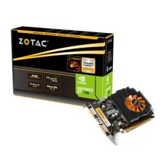 Foto Placa de Video NVIDIA GeForce GT 730 2 GB DDR3 128 Bits Zotac ZT-71103-10L