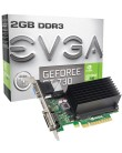 Placa de Video NVIDIA GeForce GT 730 2 GB DDR3 64 Bits EVGA 02G-P3-1733-KR