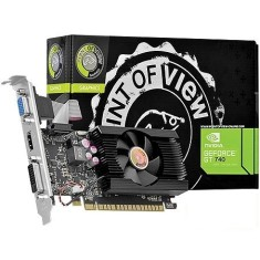 Foto Placa de Video NVIDIA GeForce GT 740 2 GB DDR3 128 Bits Point Of View VGA-740-B1-2048