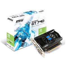 Foto Placa de Video NVIDIA GeForce GT 740 2 GB GDDR5 128 Bits MSI N740-2GD5