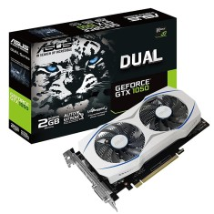Foto Placa de Video NVIDIA GeForce GTX 1050 2 GB GDDR5 128 Bits Asus DUAL-GTX1050-2G