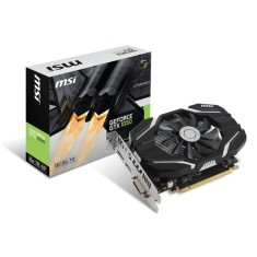 Foto Placa de Video NVIDIA GeForce GTX 1050 2 GB GDDR5 128 Bits MSI GTX 1050 2G OC