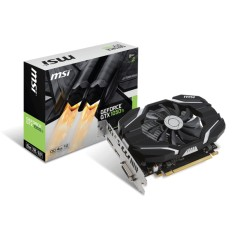 Foto Placa de Video NVIDIA GeForce GTX 1050 Ti 4 GB GDDR5 128 Bits MSI GTX 1050 Ti 4G OC