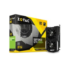 Foto Placa de Video NVIDIA GeForce GTX 1050 Ti 4 GB GDDR5 128 Bits Zotac ZT-P10510B-10L